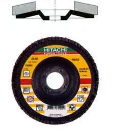 Шлифовальные лепестковые диски HITACHI (Производство RHODIUS, Германия)