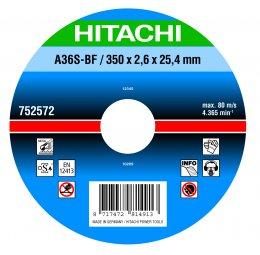 Отрезные диски по металлу HITACHI для отрезных машин (Производство RHODIUS, Германия)