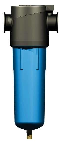 Магистральные фильтры очистки воздуха KRAFTMANN KF/KM/CA, фланцевое подсоединение