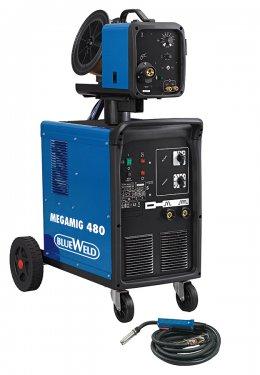 Сварочный аппарат с жидкостным охлаждением Megamig 480 R.A.
