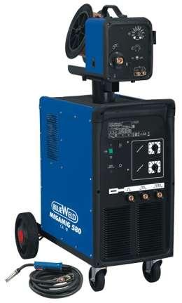 Сварочный аппарат с жидкостным охлаждением Megamig 580 R.A.