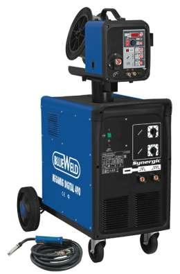 Сварочный аппарат с жидкостным охлаждением Megamig Digital Synergic 490 R.A.