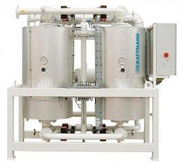 Адсорбционные осушители горячей регенерации KRAFTMANN серия KHC
