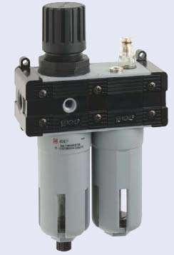 FR+L 2 1/2, Фильтр-лубрикатор 20 микрон 1/2 (2500 л/мин)