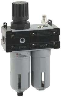 FR+L 1/4, Фильтр-лубрикатор 20 микрон 1/4 (1100 л/мин)