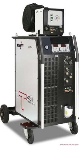 EWM TETRIX 551 AC/DC Synergic AW FWD COLD WIRE