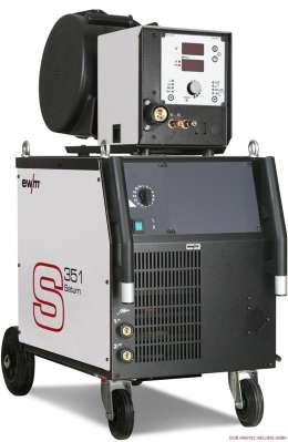 EWM SATURN 351 DG Аппарат MIG/MAG сварки со ступенчатым переключением