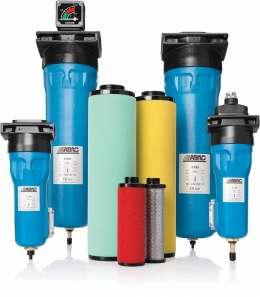 Магистральные фильтра сжатого воздуха ABAC