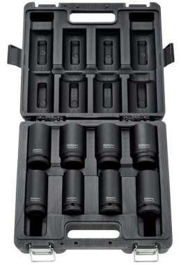 """RODCRAFT RS618D Набор (8 шт.) удлиненных ударных головок 3/4"""" 26-38 мм."""