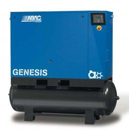 Винтовые компрессоры ABAC Genesis с электронной регулировкой числа оборотов