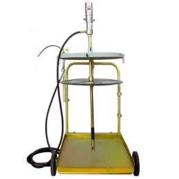 1782.A Набор для нагнетания густых смазок пневматический для бочек 180/200 кг
