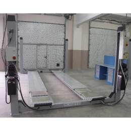 WERTHER 443JC Электрогидравлический, г/п 4000 кг. Платформы: 4560х565 мм. Встроенный детектор люфтов