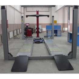 WERTHER 450JCВ Электрогидравлический, г/п 4000 кг. Платформы: 5200х630 мм. Встроенный детектор люфтов