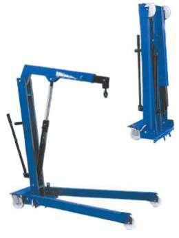 WERTHER W108SE (OMA587) Гидравлический кран, г/п 1000 кг.