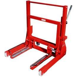 WERTHER PL701 (OMA600) Гидравлическая тележка для снятия колес, г/п 700 кг.