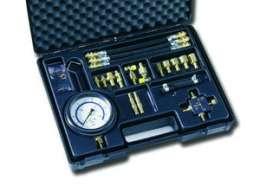 LR 180/2, Тестер давления топливных систем, (12 адаптеров)