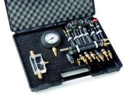 LR 180_AK2, Тестер давления в современных топливных системах с быстросъемными адаптерами.