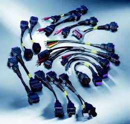 """BOSCH """"Easy Connect"""" - кабеля для подключения к диагностическим разъёмам."""