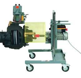 Hunger E338 - Станок для проточки тормозных дисков с креплением на тормозном суппорте