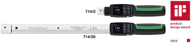 Электронномеханические динамометрические ключи с контролем угла поворота серии MANOSKOP® 714