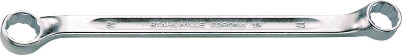 Двойные накидные ключи CORONA с небольшим изгибом