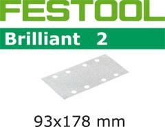 Абразивные шлифовальные полоски 93х178 мм