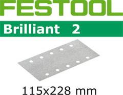 Абразивные шлифовальные полоски 115х228 мм