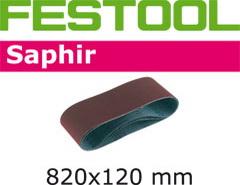 Абразивные шлифовальные ленты 820х120 мм